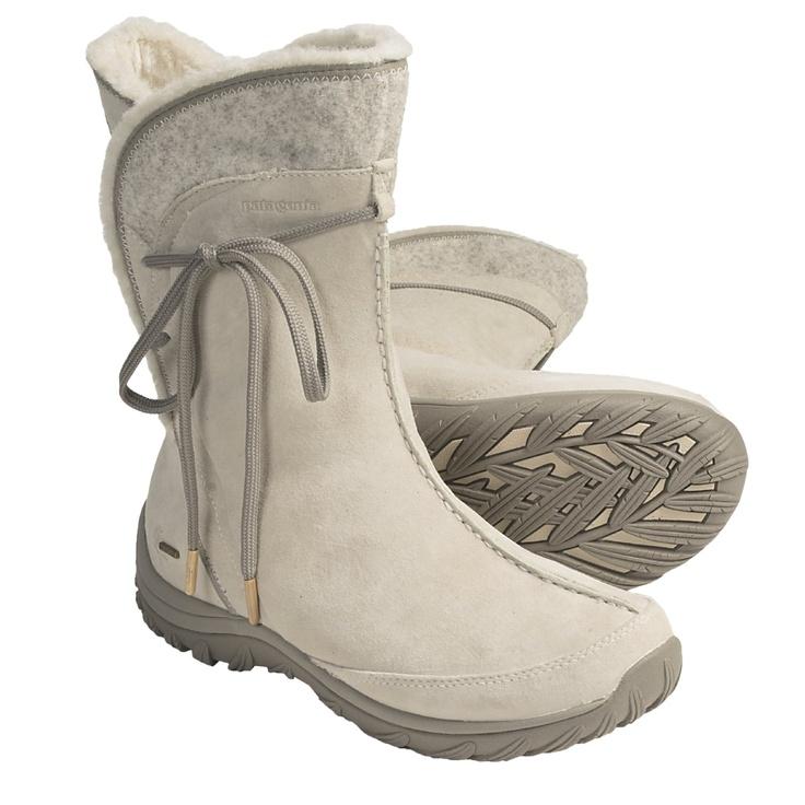 Patagonia Attlee Tie Winter Boots - Waterproof (For Women