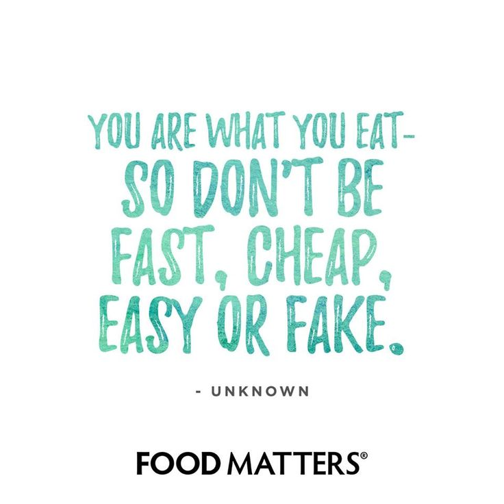 Just eat real food.  www.foodmatters.com #foodmatters #FMquotes