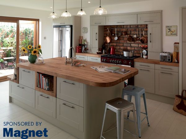 Sponsored By Magnet: Magnet has added to its innovative range of stylish and quality kitchens for spring/summer 2014. I have been particularly charmed by the Leighton Grey range.Magnet has...