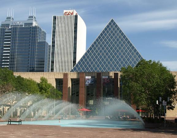 Edmonton City Hall Summer