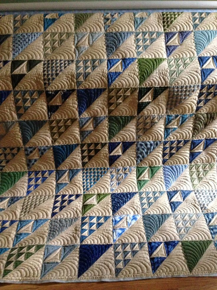 Grass Roots Quilting: Free Hand Feathers
