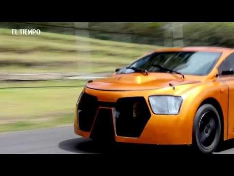 """""""Eolo"""" El primer auto eléctrico construido 100% en Colombia – Conde Magazín"""