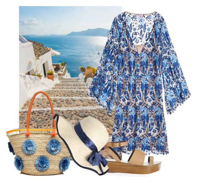 """""""Time for vacation"""" by sofiacalo ❤ liked on Polyvore featuring Calypso St. Barth, TIBI and Milly"""