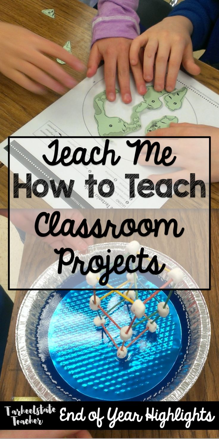 "Students become teachers in this ""teach me how to teach"" classroom project; includes lesson plan template, peer review/feedback forms, and student self-reflections; end of year project based learning projects"