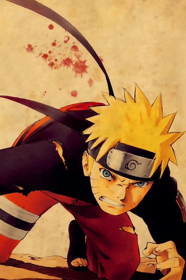 Naruto. This guy inspires people in so many ways it's crazy. I love this character, along with Sasuke. Both of them are strong men.