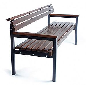 Like the short height to the back of the bench