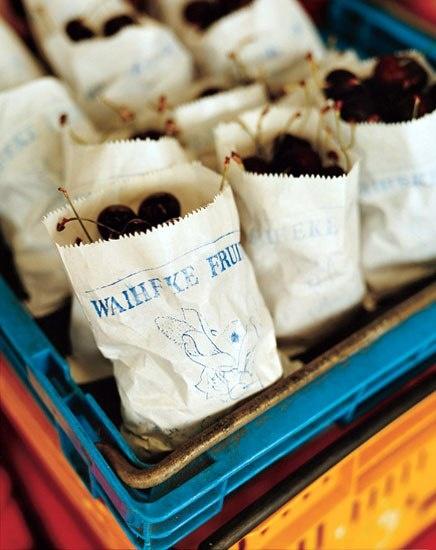 Life's a bag of cherries at Waiheke Fruit Mart in New Zealand