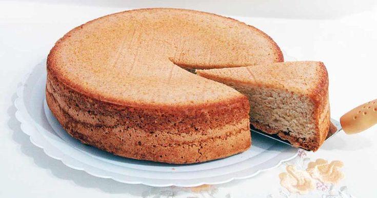 El bizcocho perfecto para rellenar, para recubrirlo, para se la base de tartas... Descubre cómo hacerlo de la mano el blog COCINA FÁCIL CON PARMELIA.