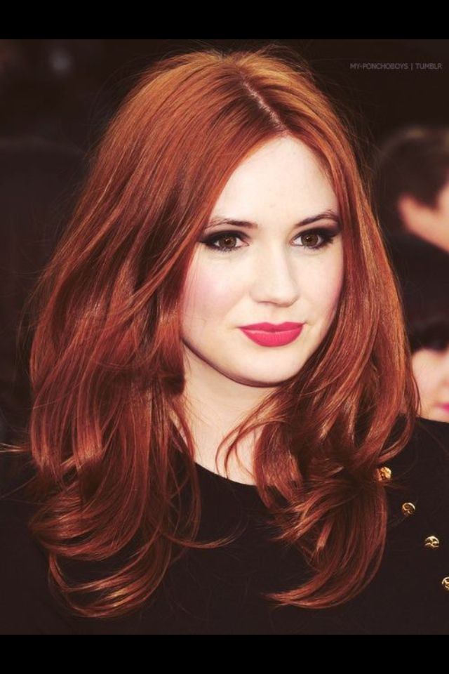 Oh Amy Pond.. I absolutely love your hair.. Too bad I only liked you as a companion about 25% of the time