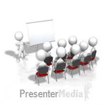 ID# 7062 - Presenting To Audience - PowerPoint Animation