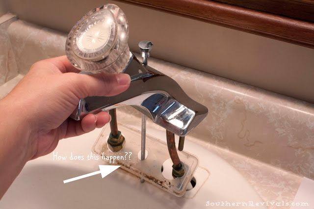 How to Install a Faucet   One Simple Change to Update Your Bathroom - Southern Revivals