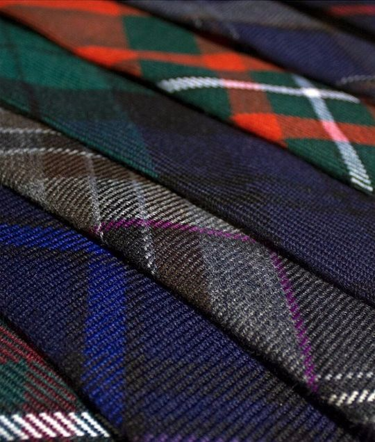 Is he even your Dad if he doesn't have a crazy selection of ties? Add a tartan one to his collection, available made to order in your choice of tartan.
