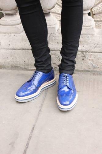 blue brogues