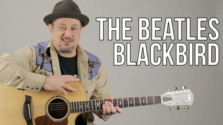 learn how to play blackbird on guitar