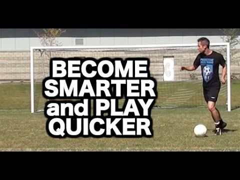 Soccer Skills vs Soccer Smarts | My top 5 soccer tips to improve speed of play and decision making - YouTube