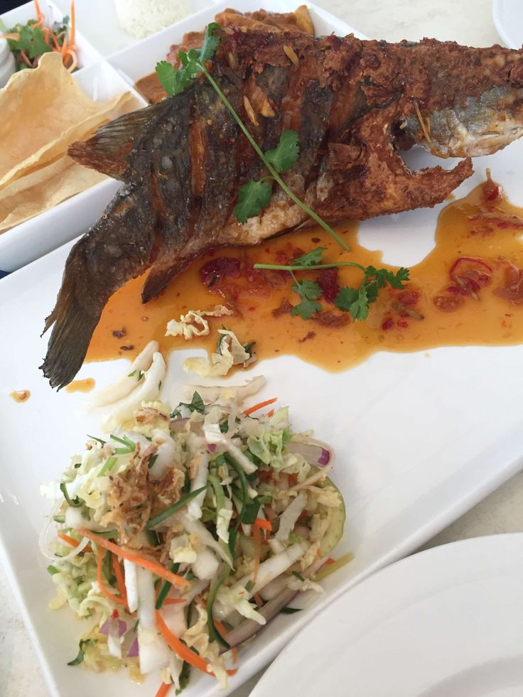 On The Inlet Restaurant Whole Deep Fried Coral Trout