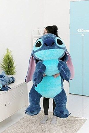 A Stitch toy that's over 3 feet tall. | 39 Adorable Gifts You'll Want To Cuddle With Right Now