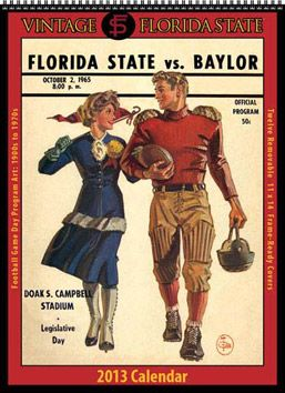 Consider, that vintage college football posters