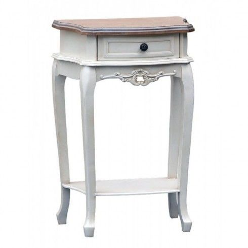 Coco One Drawer Tall Bedside Table