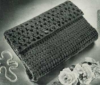 Free Knitting Pattern Clutch Bag : 17 Best ideas about Vintage Purses on Pinterest Vintage ...