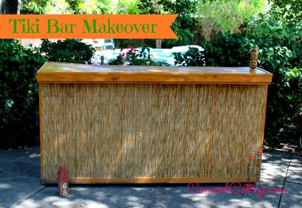 Tiki Bar Outdoors : Tiki Bar Makeover  Outdoors  Pinterest