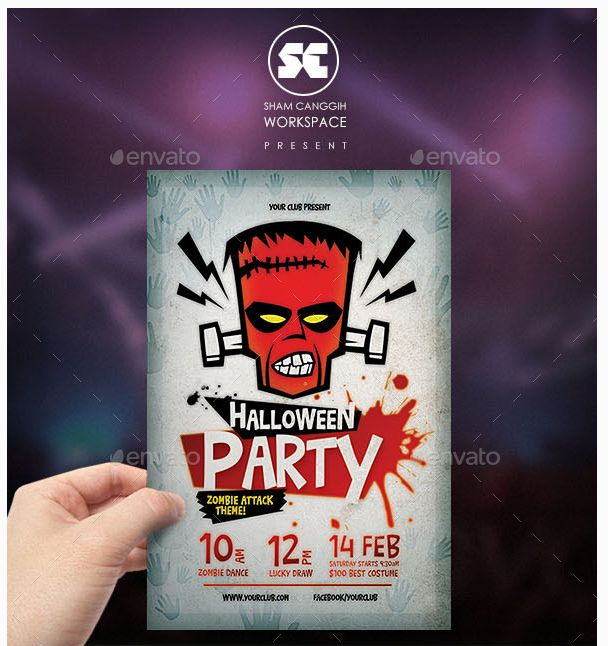 20 best Best Event Flyer Templates images on Pinterest Event - Zombie Flyer Template