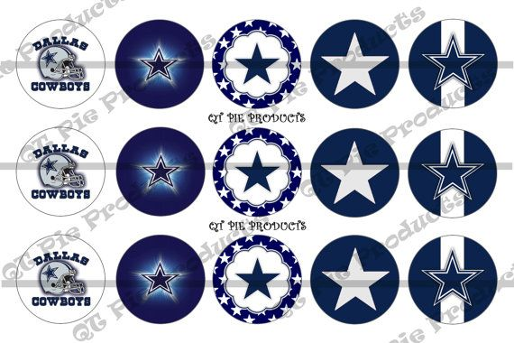 ő #Instant Download #Pink Dallas Cowboys 1 inch circle #digital Bottle cap images Inspired http://etsy.me/2cOhIlg