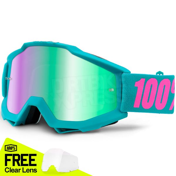 100% Accuri Goggles - Passion Mirror Lens