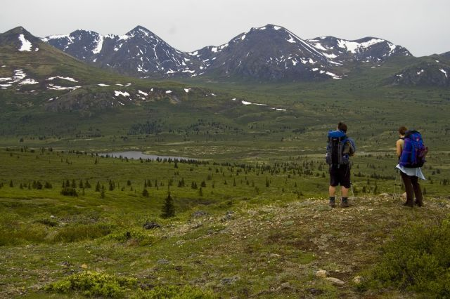 Fish Lake Backpacking, Whitehorse