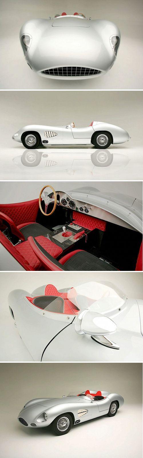 1957 Aston Martin DBR2 ~ Rizk Automobile rebuilt this 1957 Aston Martin with the challenge of using modern technology.