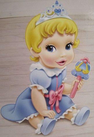 Fotos ilustram como seriam as princesas da Disney bebês