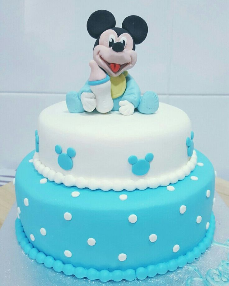 Mickey mouse baby tarta