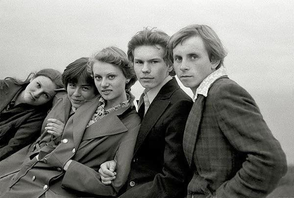 high school reunion, 1977
