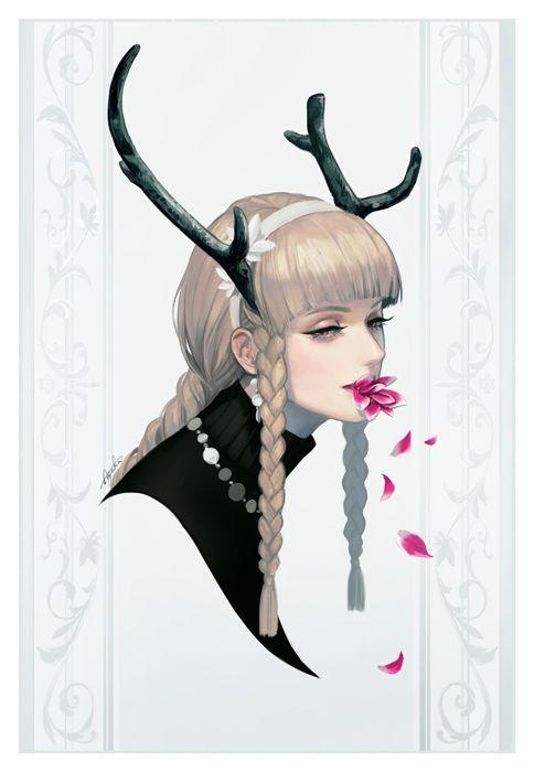 Ayaka Suda illustration