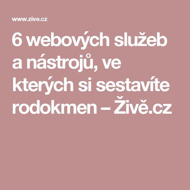 6 webových služeb a nástrojů, ve kterých si sestavíte rodokmen – Živě.cz