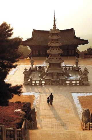 Temple in South Korea.