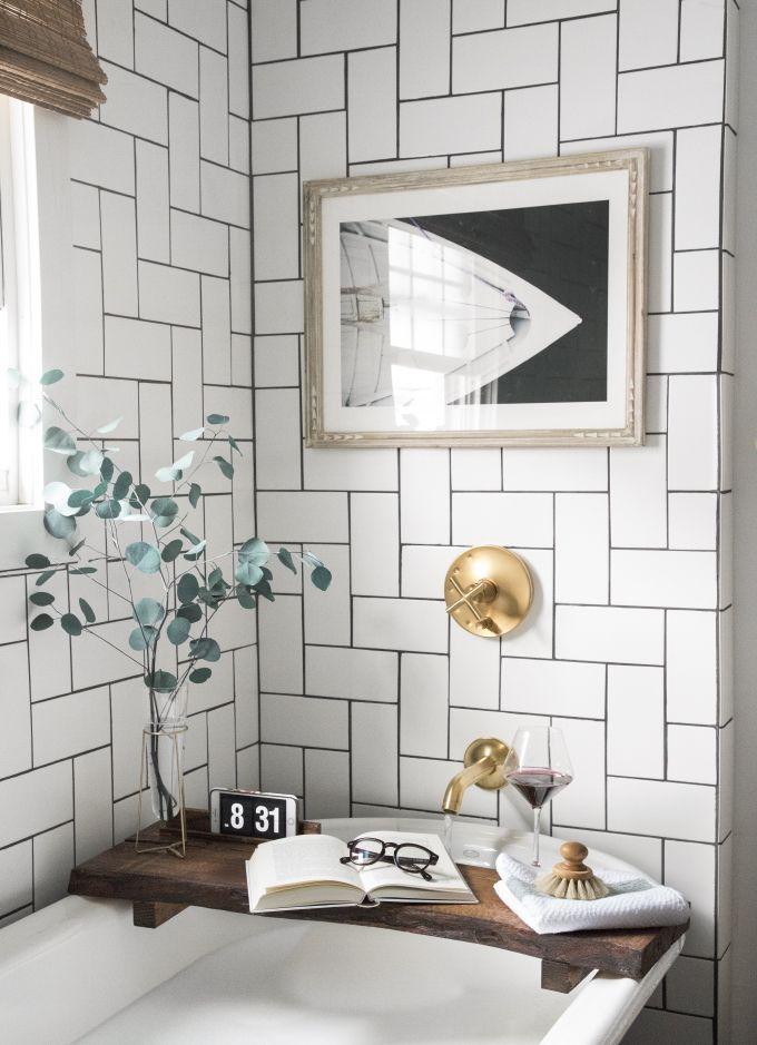 » MY DIY | Live Edge Bath Board