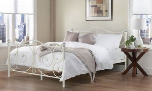 Add a sense of style and modern design to the home with a range of Steel Frame Bed Bases