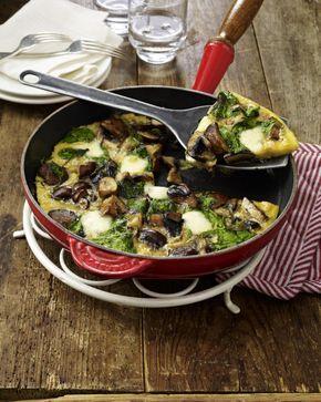 Unser beliebtes Rezept für Spinat-Pilz-Omelett und mehr als 55.000 weitere kostenlose Rezepte auf LECKER.de.