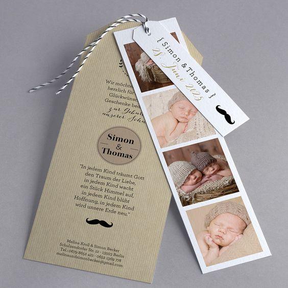 Doppeltes Glück oder mehr super gelungene Fotos für die #Babykarten BN42-001