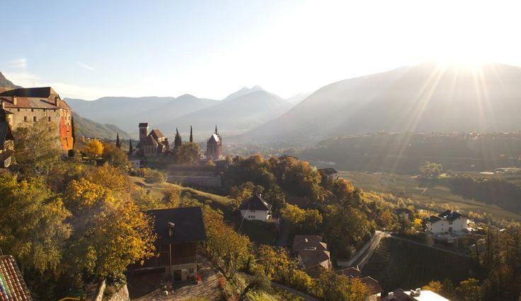 Spätherbst in Schenna, Südtirol / Late autumn in Schenna, Sudtirol