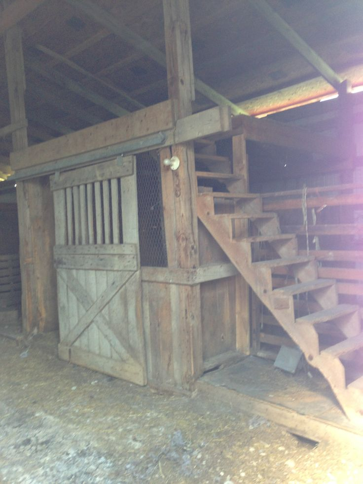 Stairs To The Hay Loft Barn Pinterest To The Dramas
