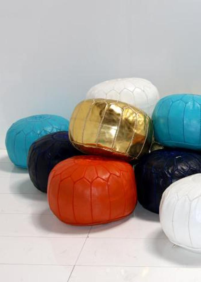 1000 Ideas About Moroccan Pouf On Pinterest Moroccan
