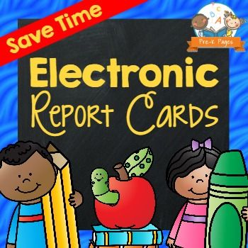 An electronic report card to make filling out report cards a breeze for Preschool and Pre-K teachers.  TAKE a VIDEO TOUR HEREJust 3 easy steps and your report cards are done, never fill out report cards by hand again!Each report card is 2 pages per student and includes an electronic comments section and a space for parents to sign.************************************************************************What makes this report card different from all the rest?Fillable Class List: Type student…