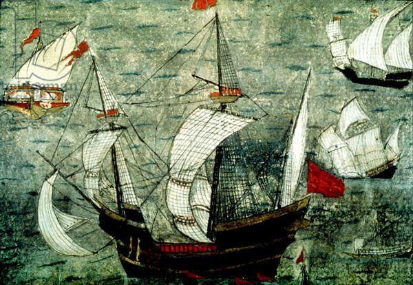 Barbarossa's ships - 16th.c.
