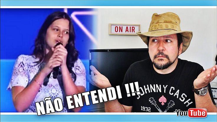 THE VOICE KIDS 2017 JAN 29 - LARISSA MOLINARI CANTA BEM e JURADOS ACHAM ...