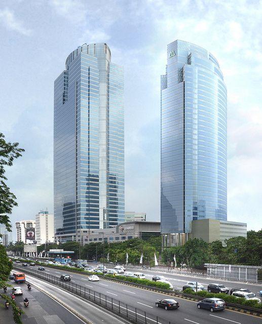 Wisma Mulia - Jakarta,195 m, 54 fl, completed 2003