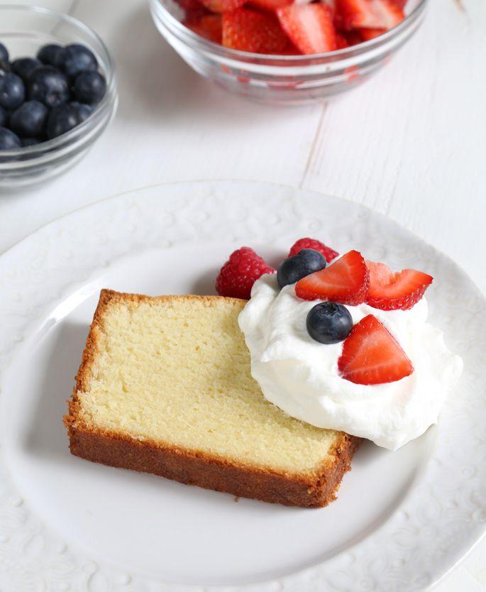 Classic Gluten Free Pound Cake | Gluten Free on a Shoestring