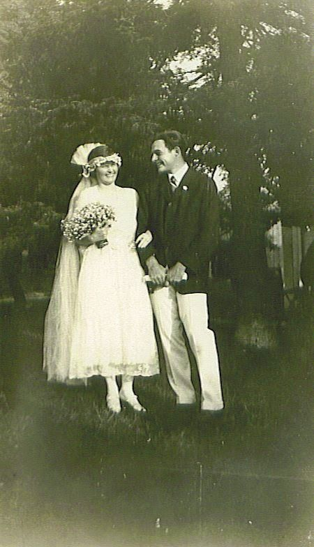 Ernest Hemingway y Elizabeth Hadley. 3 de septiembre de 1921. Horton's Bay, Michigan.