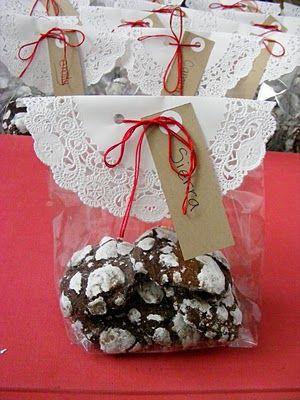 Bolsa de regalo para galletas